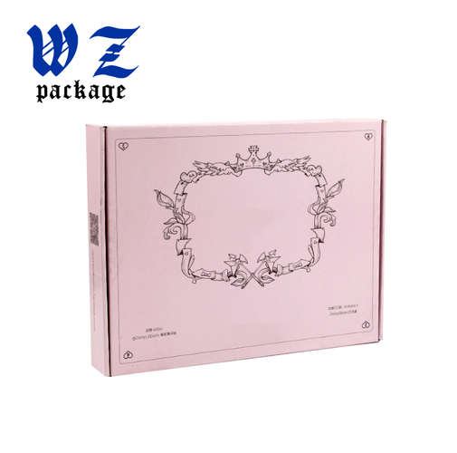 Custom printing folding paper box corrugated paper shipping box
