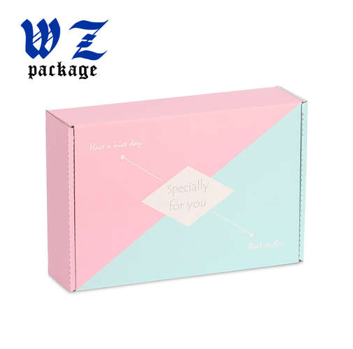 Free sample design printing corrugated paper shipping box for mailing