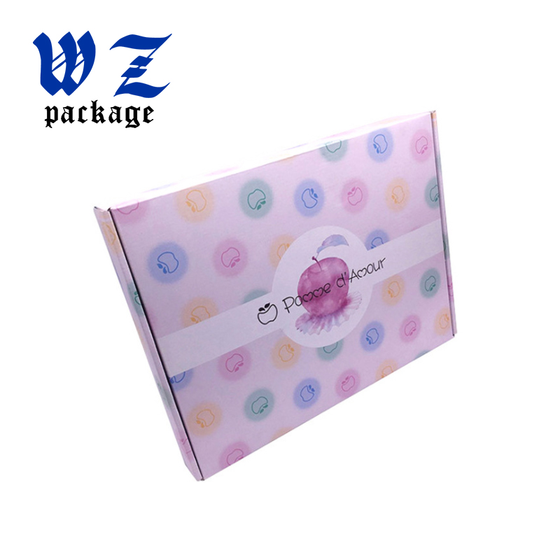 Full color printing cardboard corrugated shipping carton box