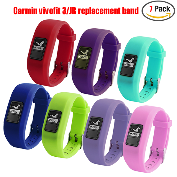 Garmin Vivofit 3 Replacement Band-Replacement Wristband Strap Bands for Garmin Vivofit 3/ Vivofit JR/ Vivofit JR. 2 Bracelet