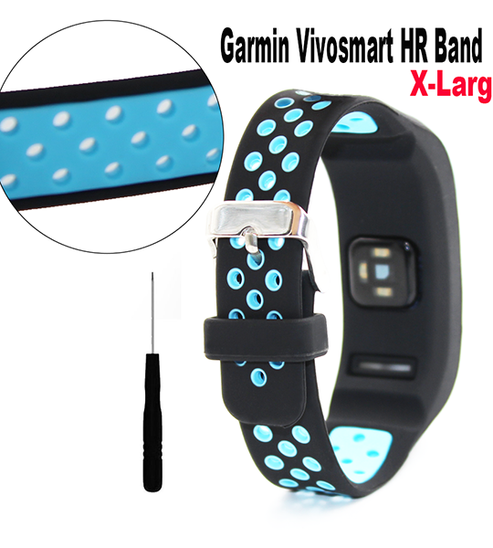 Garmin Vivosmart HR Replacement Band-Silicone Bracelet Wristband with Screwdriver for Garmin vivosmart HR