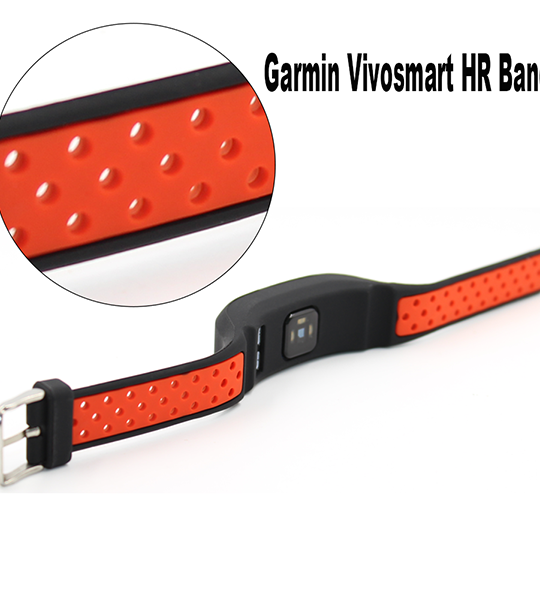 Garmin Vivosmart HR Replacement Strap-Silicone Bracelet Wristband with Screwdriver for Garmin vivosmart HR