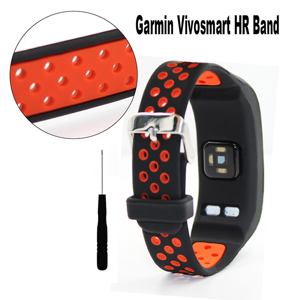 Garmin Vivosmart HR wristband-Silicone Bracelet Wristband with Screwdriver for Garmin vivosmart HR