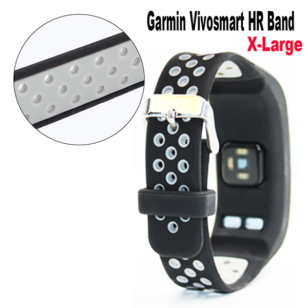 Vivosmart HR Band for Garmin-Silicone Bracelet Wristband with Screwdriver for Garmin vivosmart HR