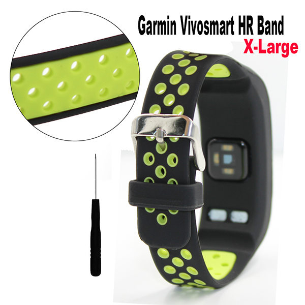 Garmin Vivosmart HR wrist band -Silicone Bracelet Wristband with Screwdriver for Garmin vivosmart HR