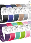 Fitbit Charge 2 Wristbands-Adjustable bands Strap for Fitbit Charge 2 Replacement -12Pack Small