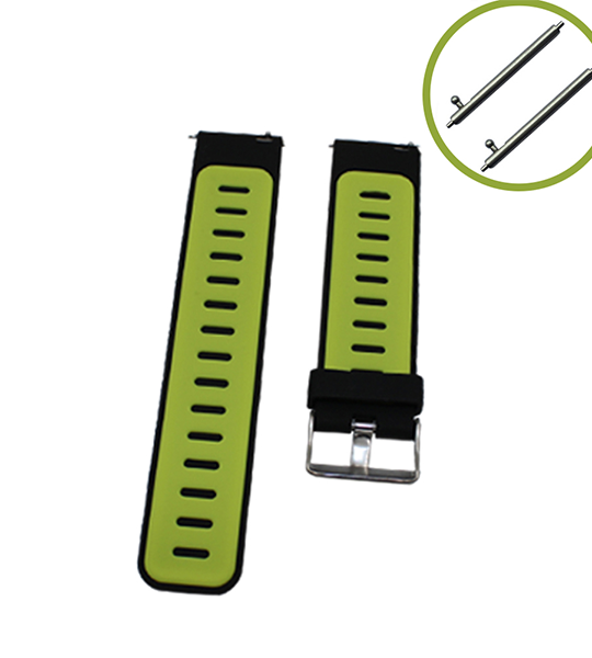 Quick Release 22mm Watch Bands-Adjustable Replacement Strap for Amazfit/Samsung Gear S3 Frontier/S3 Classic