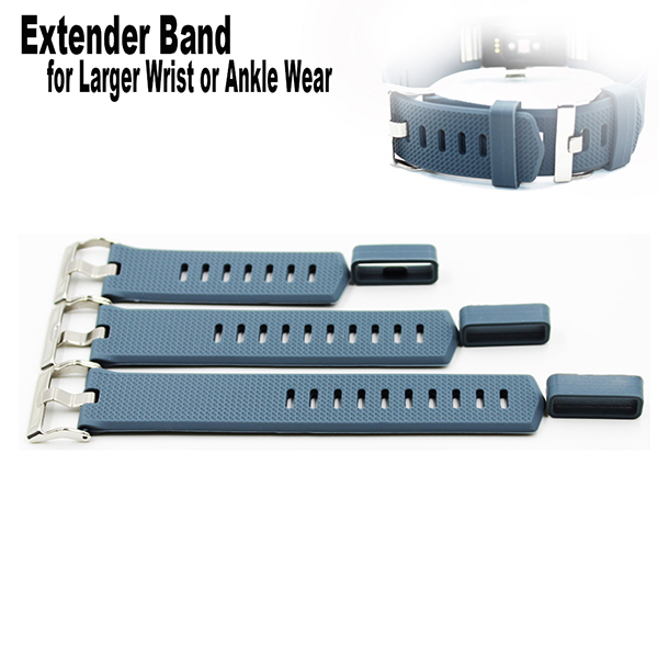 Extender Bands for Fitbit Charge 2 Fitness Tracker Wristband-for Large Size Wrist or Ankle Wear