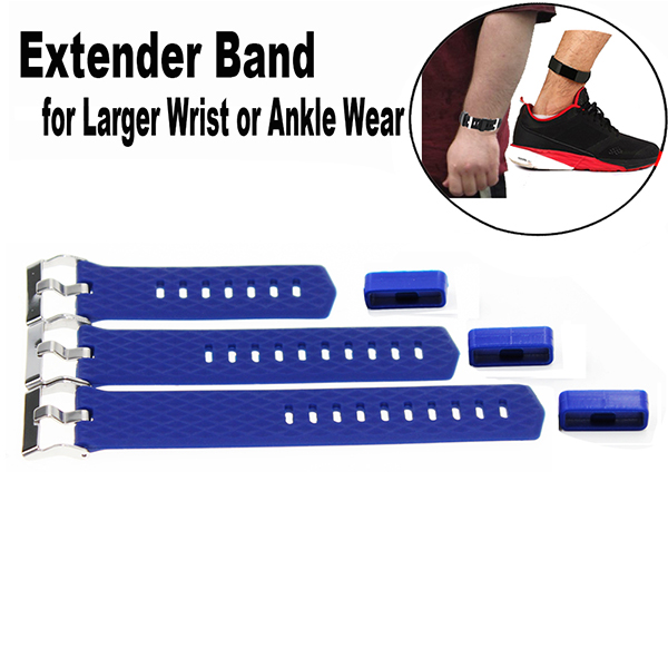 Band Extender for Fitbit Charge 2 Fitness Tracker Wristband-for Large Size Wrist or Ankle Wear