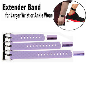 Larger Wrist Band Fitness Tracker Wristband-for Large Size Wrist Or Ankle Wear 3 Pack With Different Length