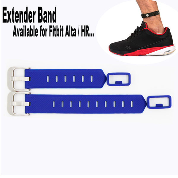 Fitbit Flex/ 2 Fitbit Alta Extender Band HR Fitness Tracker Wristband-for Large Size Wrist or Ankle Wear 2 Pack with Different Length