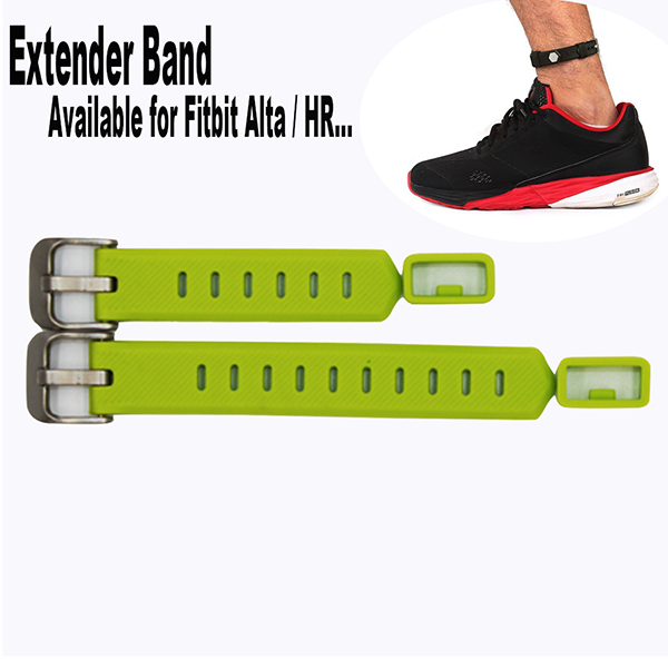 Extender Band large size wrist band for Fitbit Flex/ 2 Fitbit Alta / HR Fitness Tracker Wristband-for large size wrist or Ankle Wear 2 Pack with Different Length