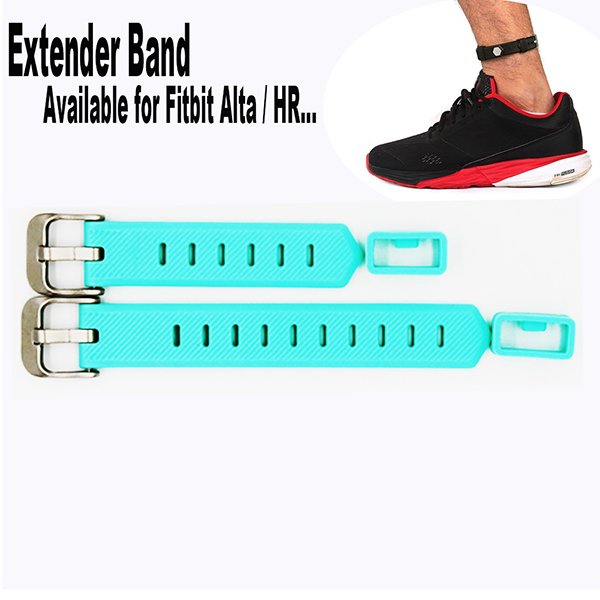 Fitbit Flex/ 2 Fitbit Alta/HR large size Bands Fitness Tracker Wristband-for Large Size Wrist or Ankle Wear 2 Pack with Different Length