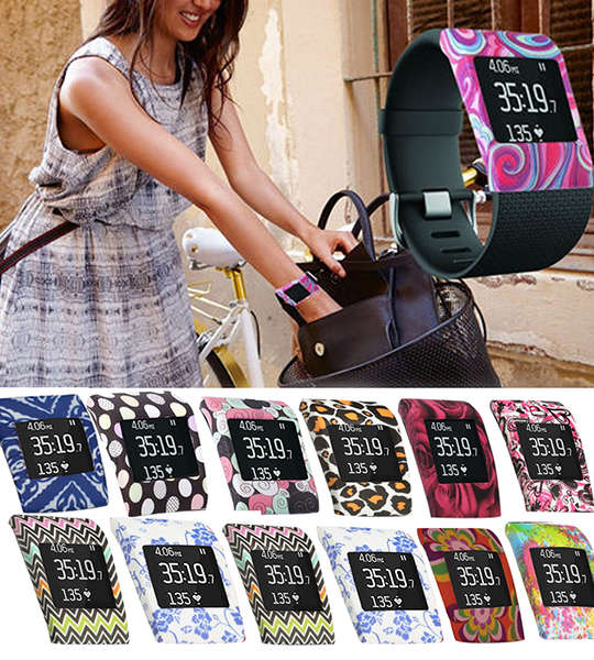 Fitbit Surge case cover Smartwatch Slim Design Sleeve Protector Wriststrap Bracelet Band Cover