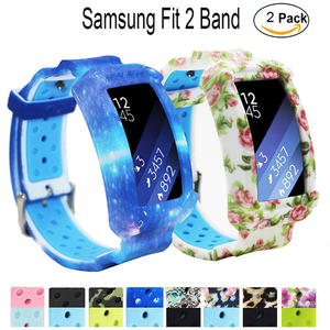 Samsung Fit 2 Strap Bands/ Gear Fit2 Pro Watch Band-Replacement Strap For Samsung Smart Watch Galaxy Gear Fit 2 SM-R360 Fit 2