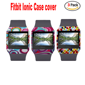 Fitbit Ionic Band Cover-Silicone Accessory Protective Case Frame Sleeve Shell For Fitbit Ionic