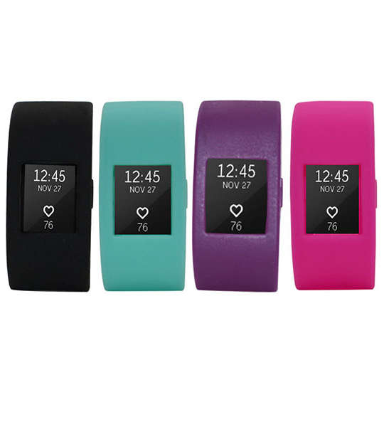 Fitbit Charge 2 Band Cover--Silicone Screen Protective Seelve Case Cover for Fitbit Charge 2