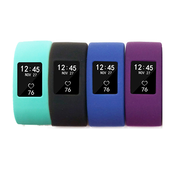 Fitbit Charge 2 Case Cover --Silicone Screen Protective Seelve Band Cover for Fitbit Charge 2
