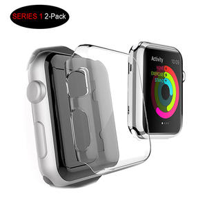 Apple Watch Series 1 38MM Case Screen Protective Cover - Clear PC Hard Case For Apple Watch Series 1 IWacth 2015