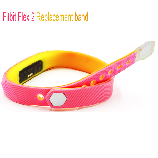 Fitbit Flex 2 bands-Double Color Mixed Wristband Strap for Fitbit Flex 2 Fitness Bracelet