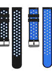 18mm Watch Bands-Soft Silicone Wrist Strap for Huawei Watch LG Watch Style and All Other Width 18mm Smart Watch Medial Size