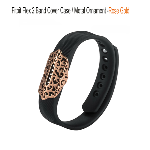 Fitbit Flex 2 Protector case -Jewelry Bling Accessory Wristband Stainless Sleeve Protector band Case for Fitbit Flex 2 Strap Band