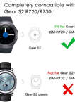 Samsung Gear S2 bands -Replacement Sport Wristband Strap for Samsung Gear S2 ( SM-R720 / SM-R730 ONLY) Smart Watch