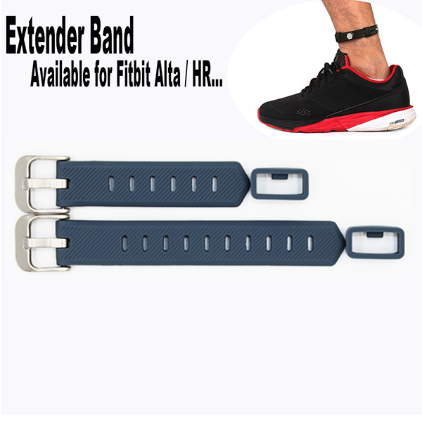 Extender Bands for Fitbit Flex/ 2 Fitbit Alta / HR Fitness Tracker Wristband-for Large Size Wrist or Ankle Wear 2 Pack with Different Length