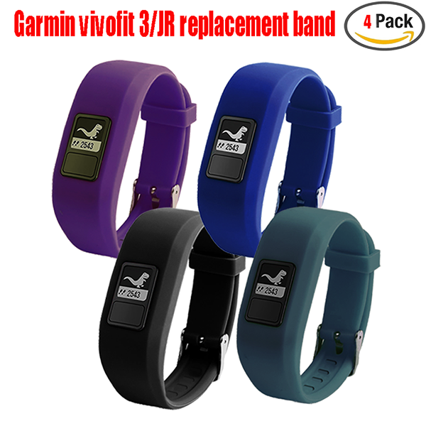Garmin Vivofit 3 strap Replacement Band-Replacement Wristband Strap Bands for Garmin Vivofit 3/ Vivofit JR/ Vivofit JR. 2 Bracelet