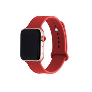 Silicone apple watch bands with Button