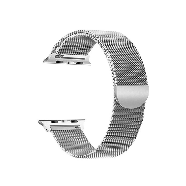 Milanese Stainless Steel Apple Watch Bands with Quick Release Spring Bar