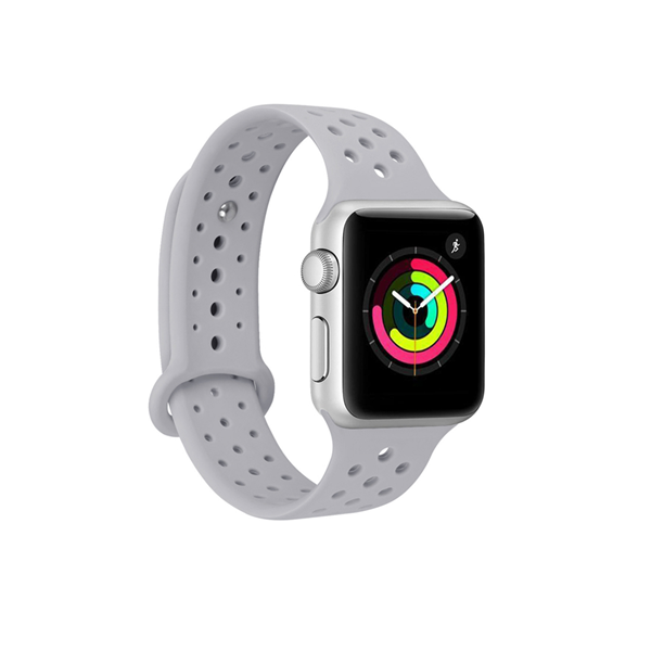 Silicone Apple Watch Bands with Holes Style