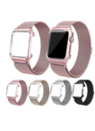 Milanese Apple Watch Straps Stainless Steel Apple Watch Bands with Frame
