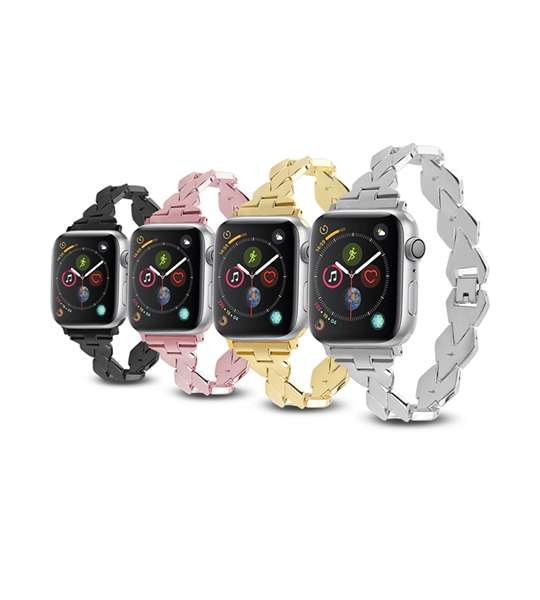 Stainless Steel Apple Watch Bands Braided Style