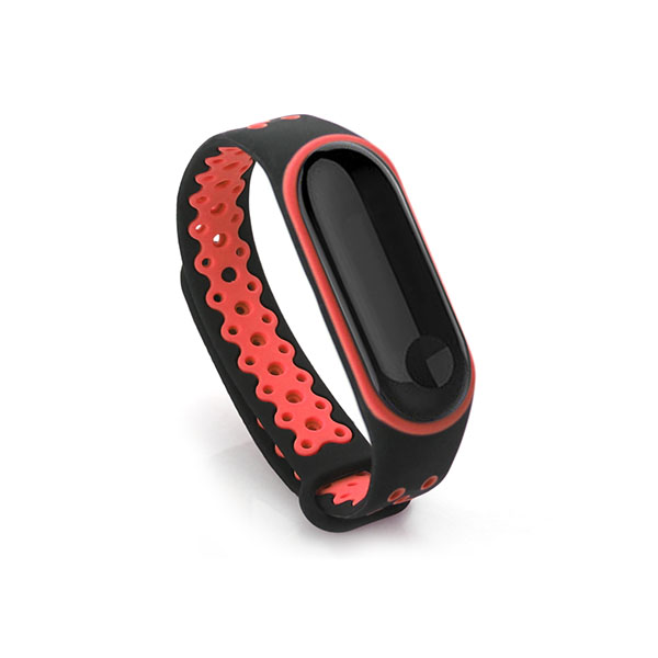 Double Colors Silicone Xiaomi Mi Band 3 Watch Bands