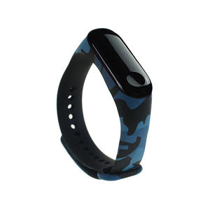 Water Transfer Pattern Style Silicone Xiaomi Watch Bands Xiaomi Mi 3
