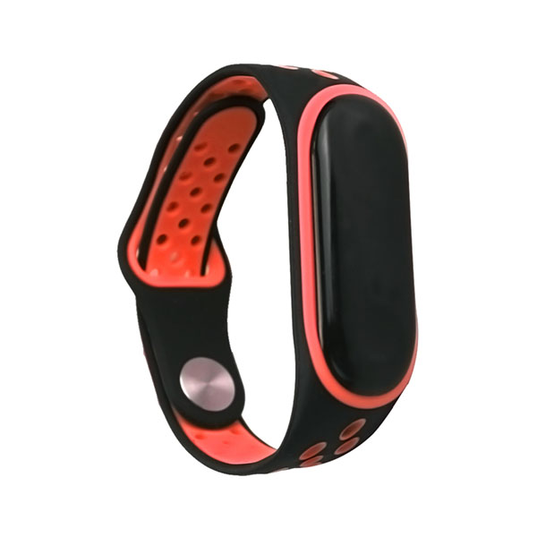 Double Colors Style Silicone Xiaomi Watch Bands Xiaomi Mi Band 3