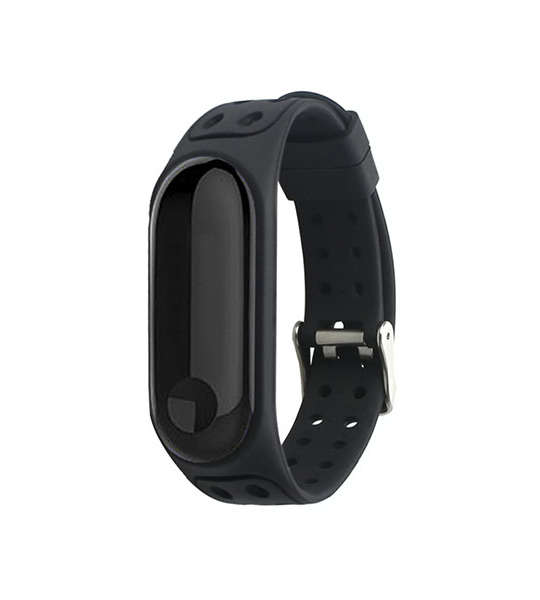 Double Colors Style Silicone Xiaomi Watch Bands Xiaomi Mi Band 3 With Double Buckles