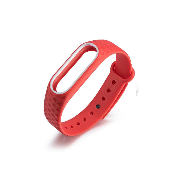 Double Colors Silicone Xiaomi Watch Bands Xiaomi Mi band 2