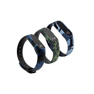 Water Transfer Print Pattern Silicone Xiaomi Watch Bands Xiaomi Mi 2 Band