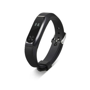 Silicone Xiaomi Watch Bands with Metal Case Xiaomi Mi Band 2