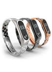 Stainless Steel Milanese Xiaomi Mi Band 2 Watch Bands Xiaomi 2 with Clasps