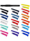 Pure Color Silicone Replacement Watch Straps Samsung Gear Fit 2 Bands with Buckle