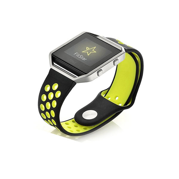 Double Colors Nike Style Replacement Silicone Watch Bands for Fitbit Blaze
