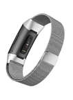 Milanese Stainless Steel Fitbit Watch Bands for Fitbit Charge 3 with Magnetic Clasp