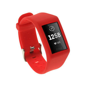 Pure Color Replacement Silicone Fitbit Watch Bands For Fitbit Charge 3