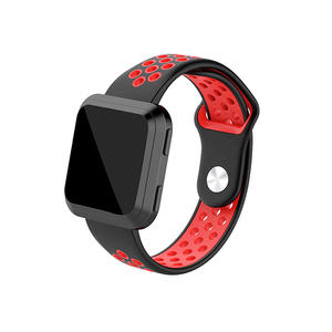 Nike Style Replacement Silicone Fitbit Watch Bands for Fitbit Versa
