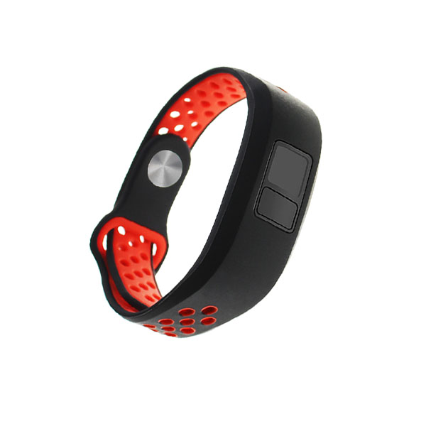 Dual Colors Replacement Silicone Garmin Vivofit Bands for Garmin vivofit 3