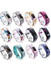 Water Transfer Printed Replacement Silicone Garmin Vivofit Bands for Garmin vivofit 3