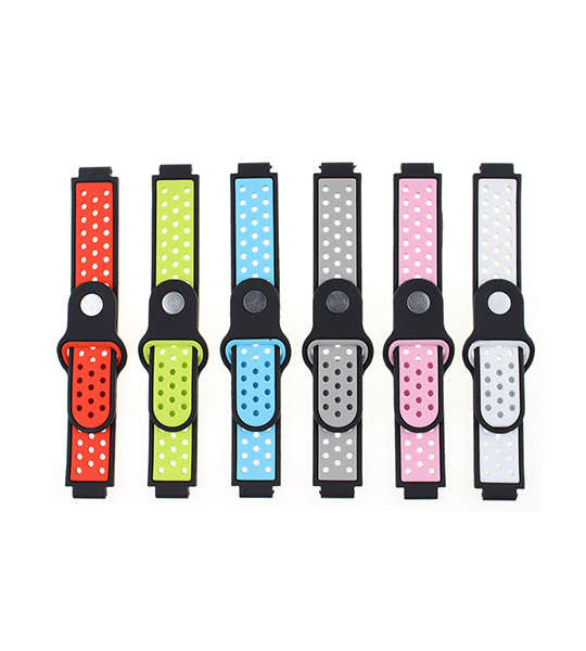 Dual Colors Replacement Silicone Garmin Forerunner 235 Watch Bands with Screwdriver